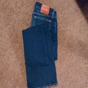 Dark Lucky Brand Lil Maggie Jeans
